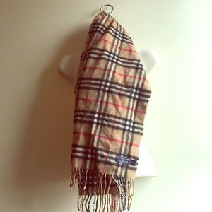 Authentic Burberry Cashmere Scarf!